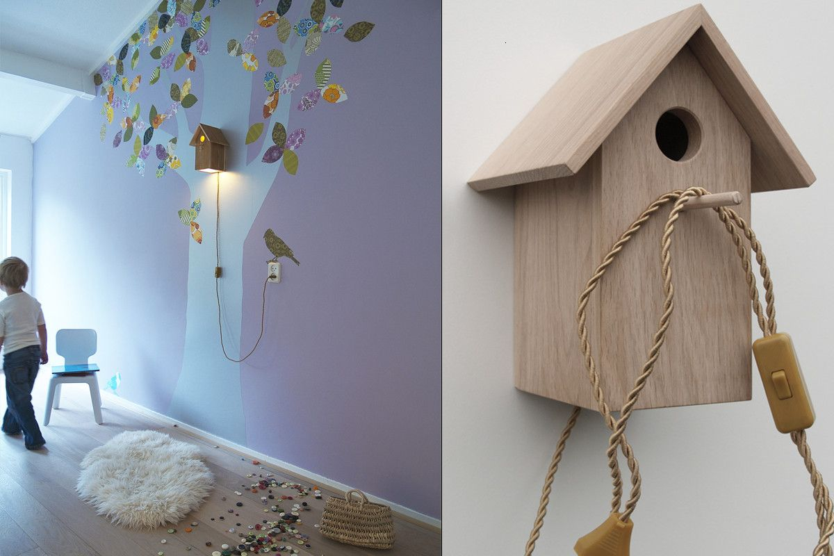 Bird Lamps Bring The Natural Feel Of Being With Birds