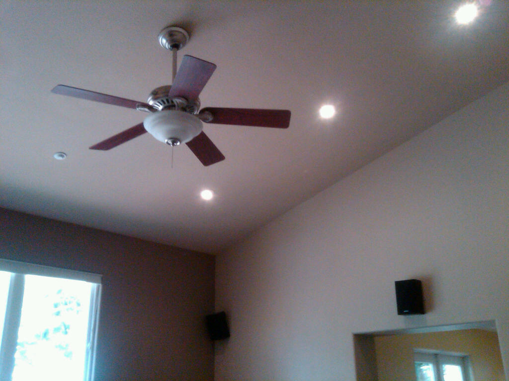 How to replace a recessed light fixture with ceiling fan hbm blog guide on how to install ceiling fan vaulted aloadofball Image collections