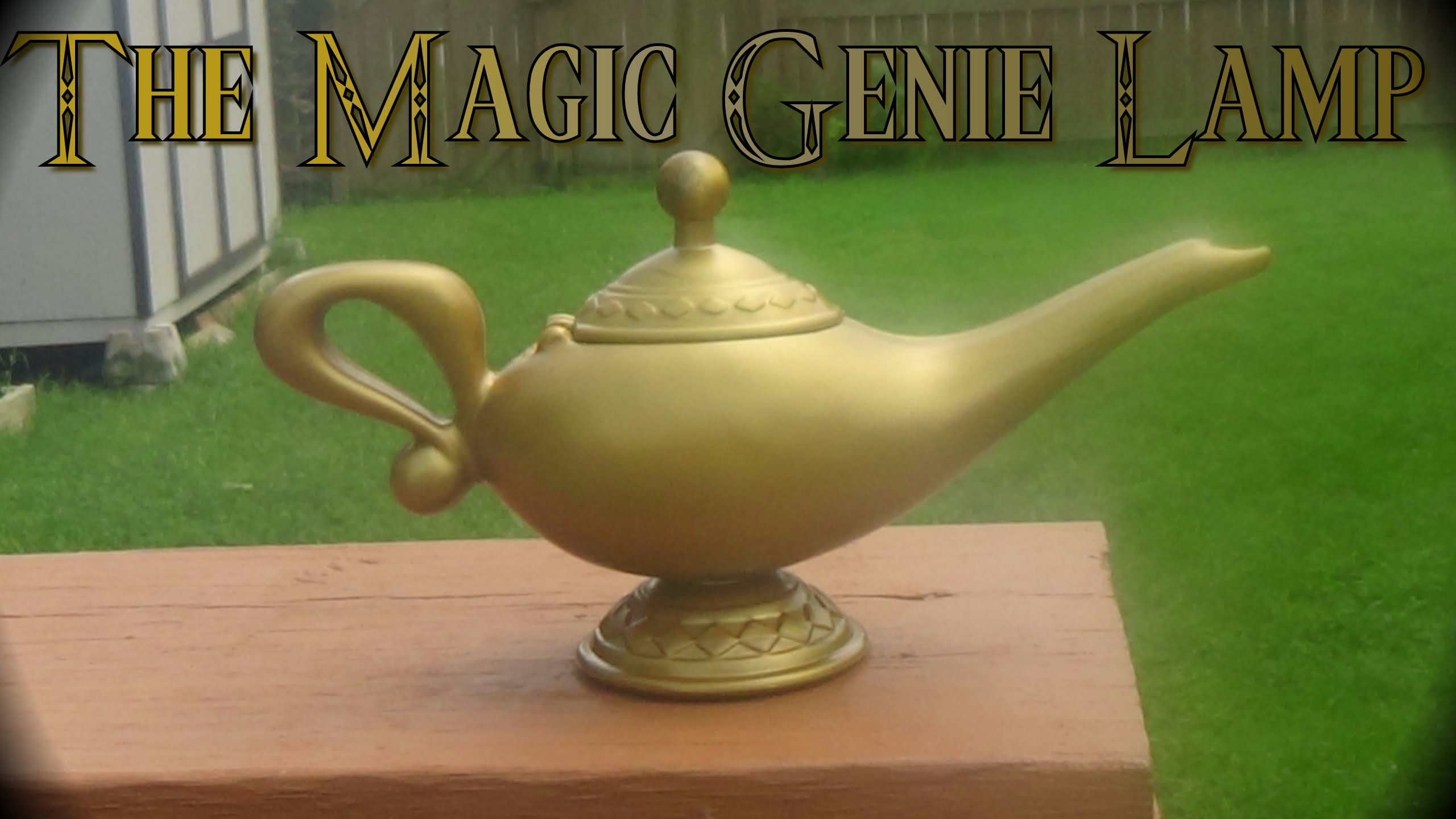 Magic Genie Lamp Fill A Room With Elegant And Peaceful