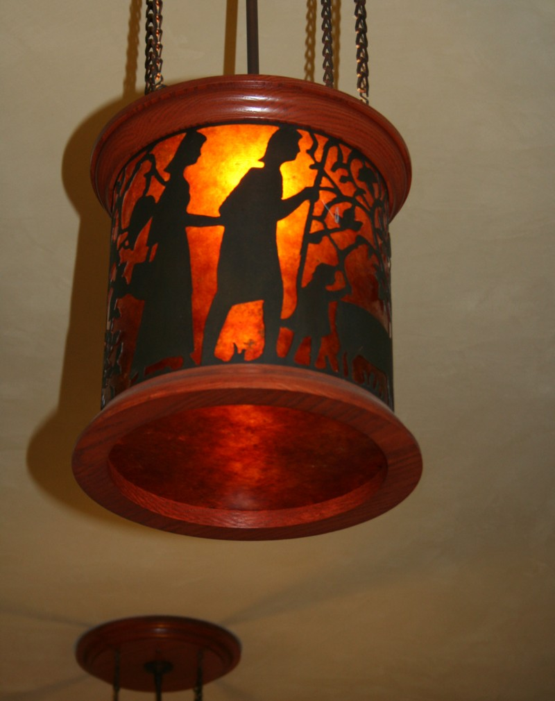 Arts and crafts light fixtures - An Error Occurred
