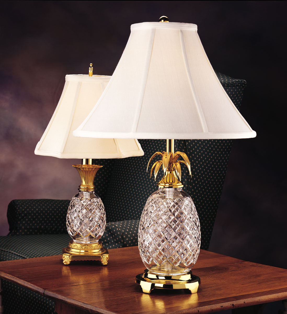 Crystal Pineapple Lamp Your Appeal Of The Modern World