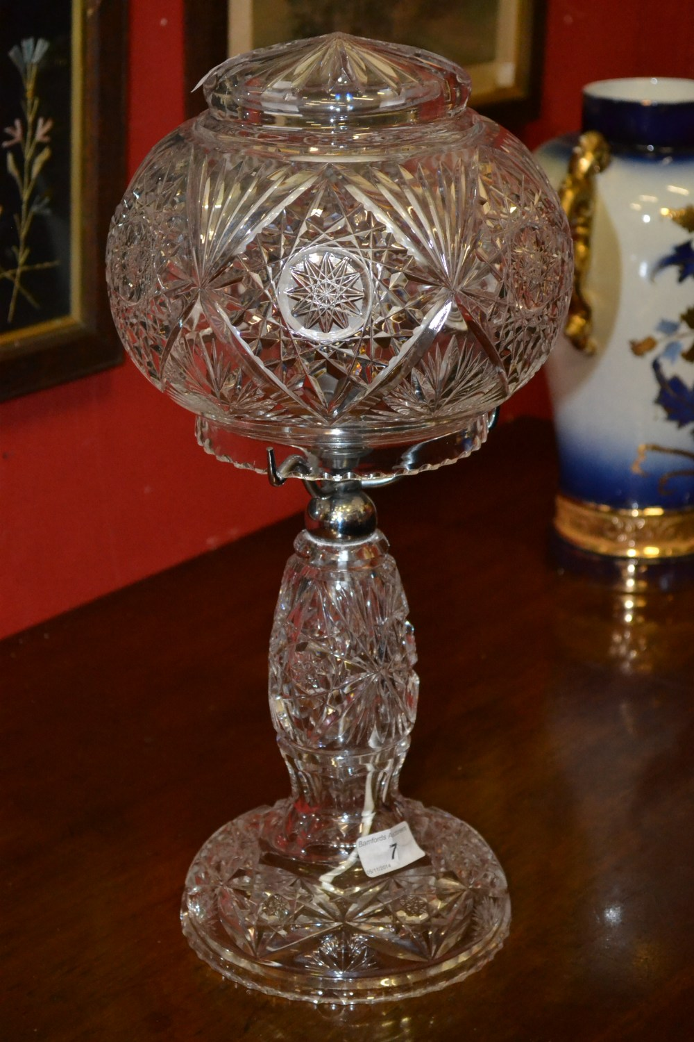 Discover The Beauty Of Lead Crystal Lamps