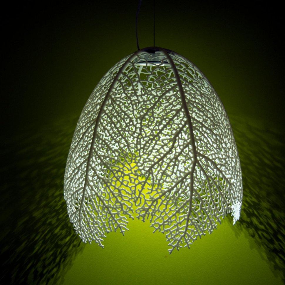 Leaf lamps