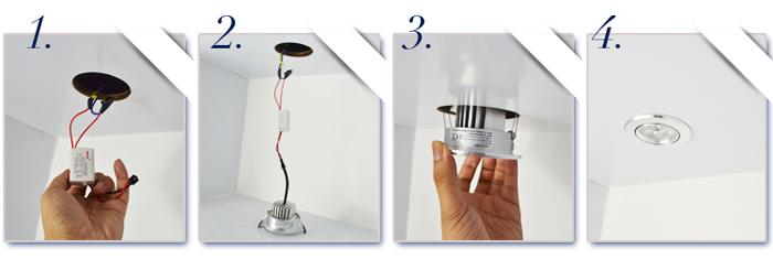 12v led ceiling lights photo - 5