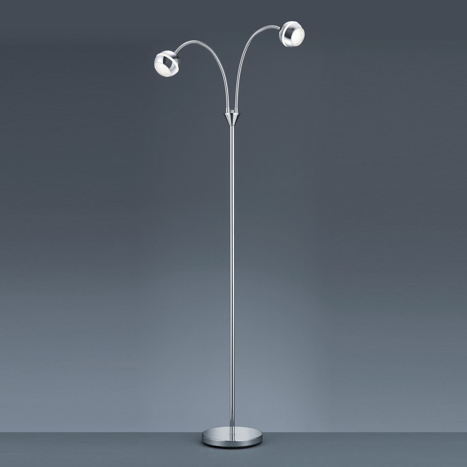 2 light floor lamp photo - 5