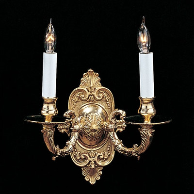 2 light wall sconces photo - 9