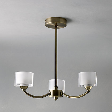 3 arm ceiling light photo - 7