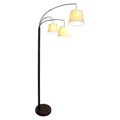 3 arm floor lamp photo - 2