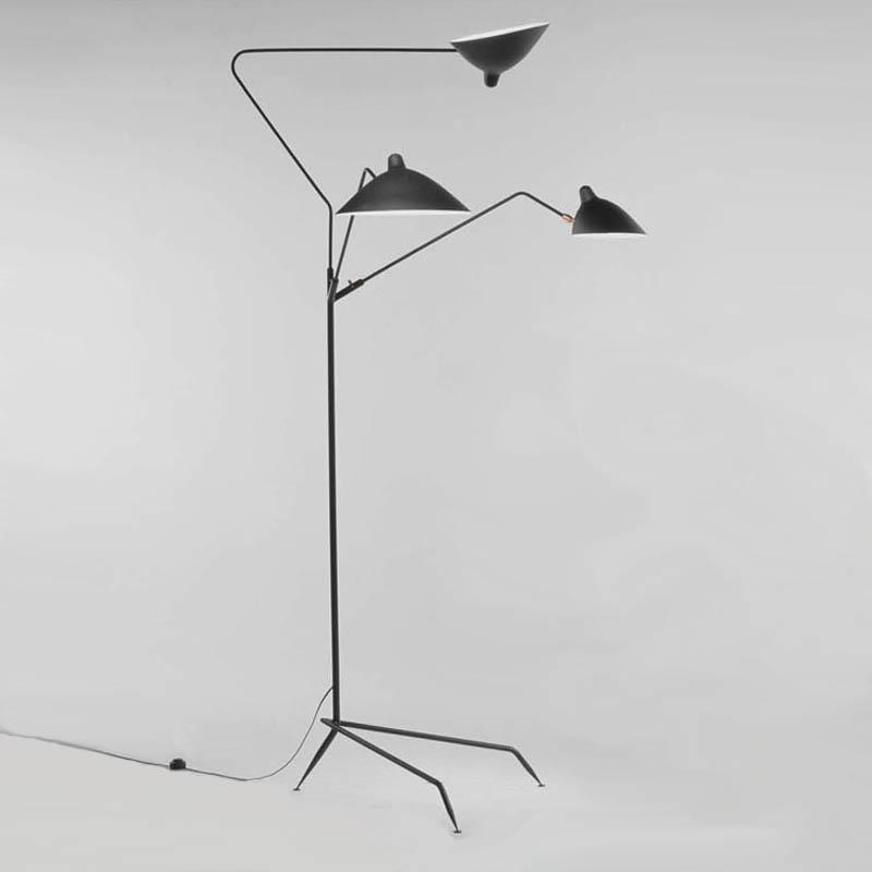 3 arm floor lamp photo - 3