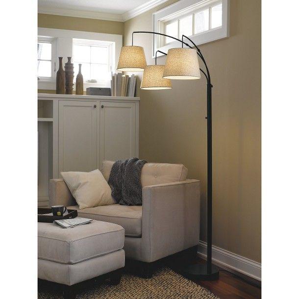 3 arm floor lamp photo - 5