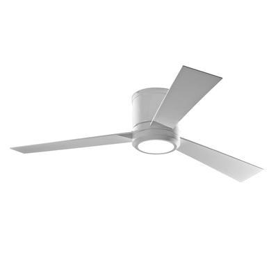 3 blade ceiling fan no light photo - 6
