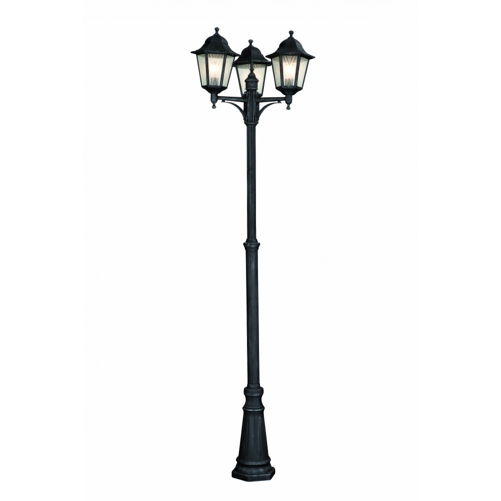 3 lamp post light outdoor photo - 1