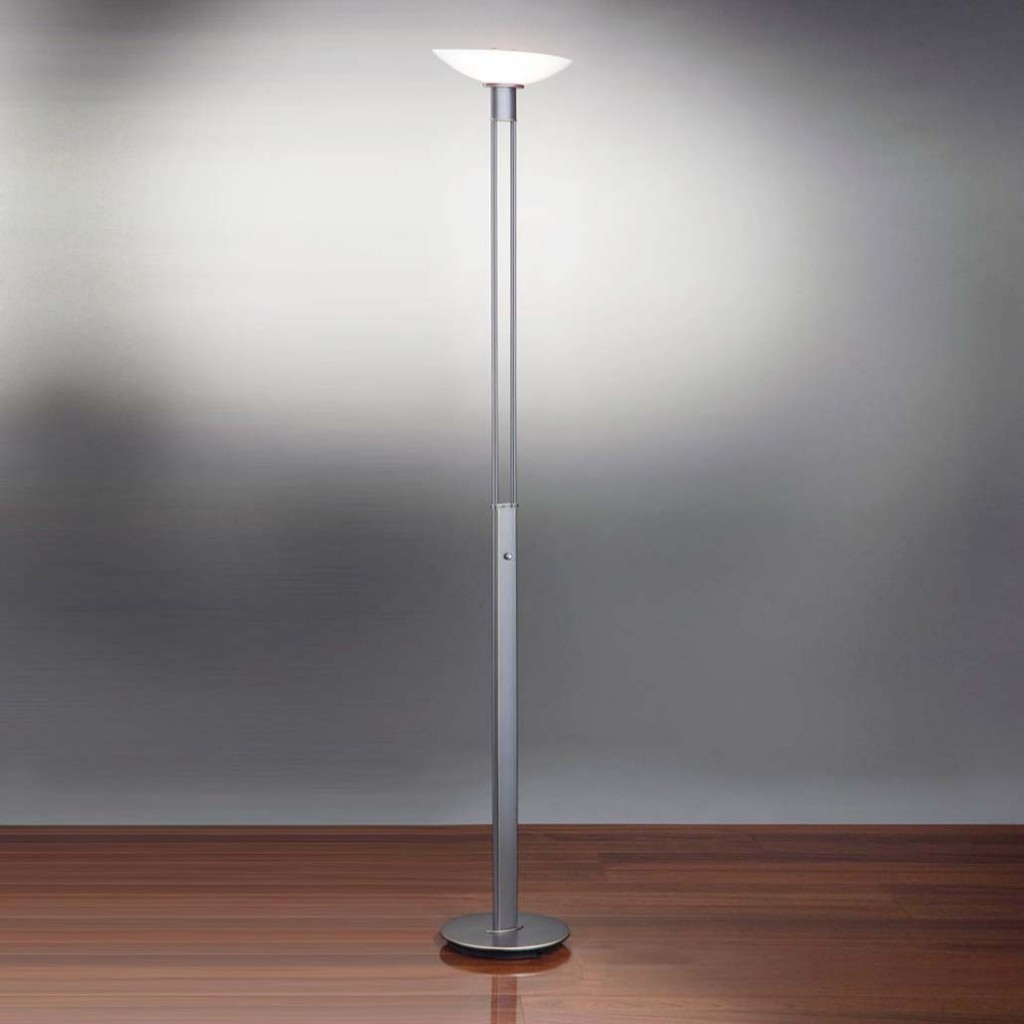 300 watts halogen torchiere floor lamp photo - 1
