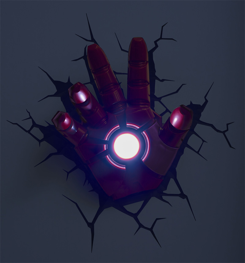 3d avengers wall lights photo - 8