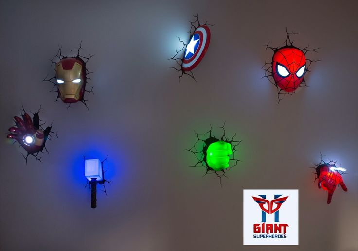 3d deco wall lights photo - 3