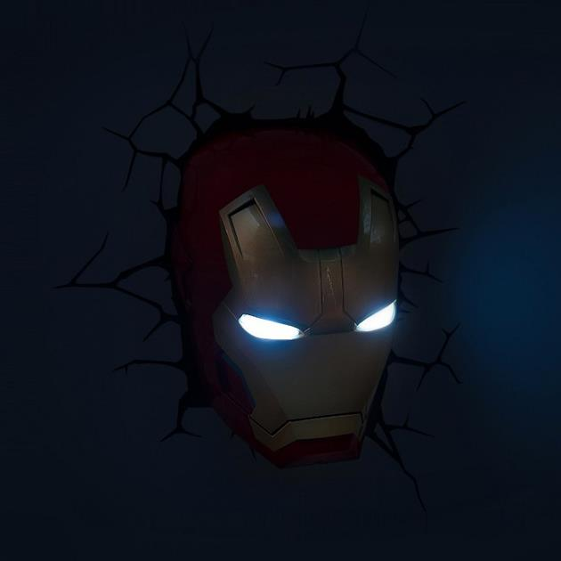 3d marvel wall lights photo - 10