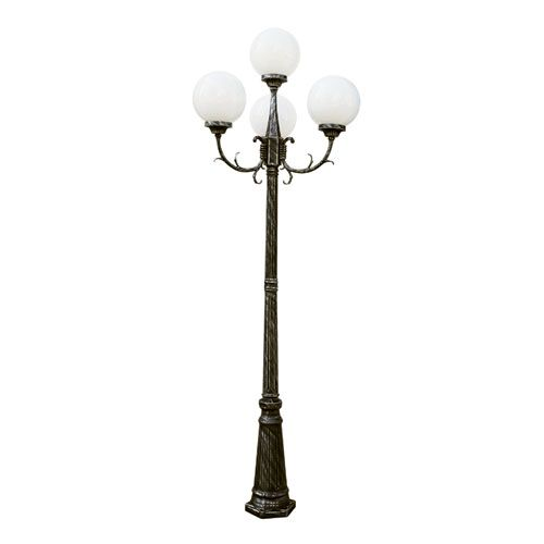 4 light outdoor post lamp photo - 1