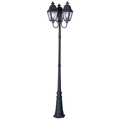 4 light outdoor post lamp photo - 10