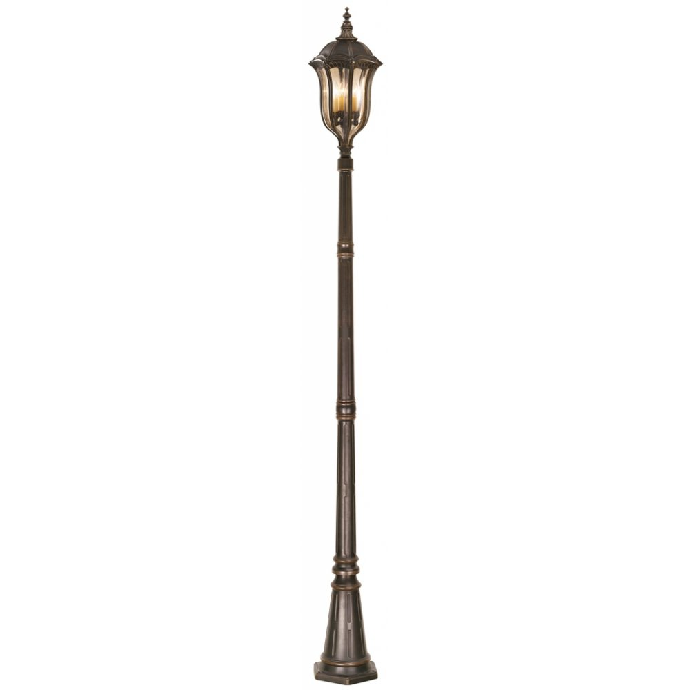 4 light outdoor post lamp photo - 5