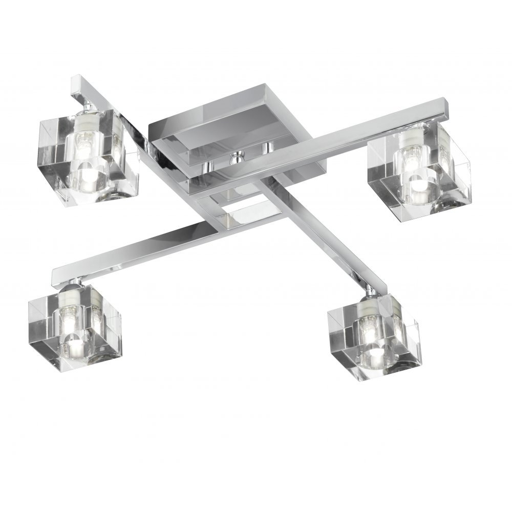 4 spot ceiling light photo - 10