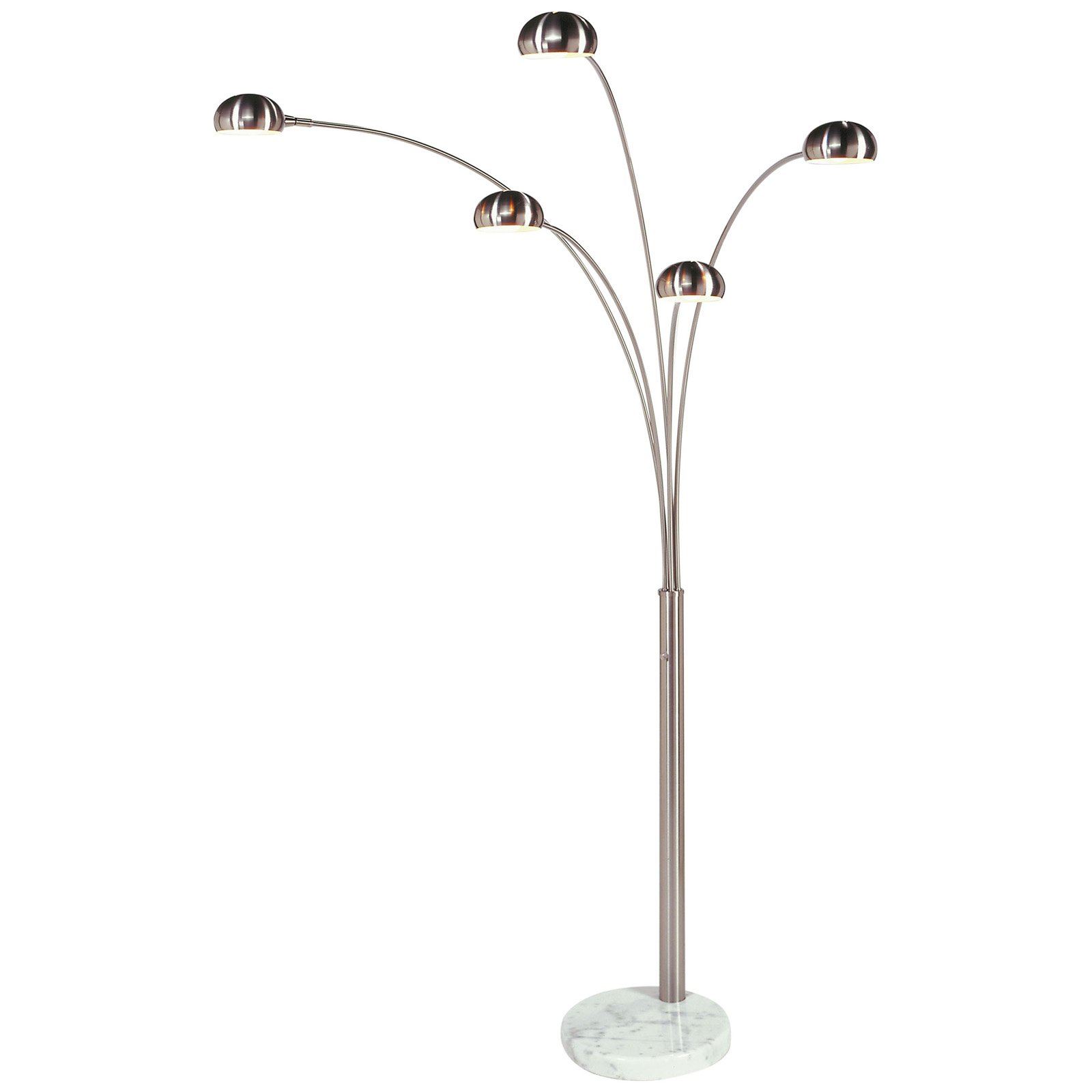 5 Bulb Floor Lamp A Sense Of Beauty For Your Space