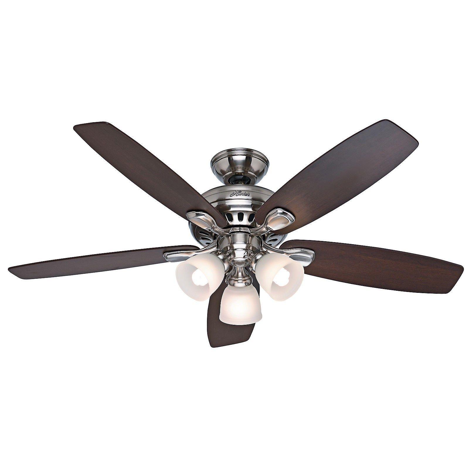 5 light ceiling fan photo - 2