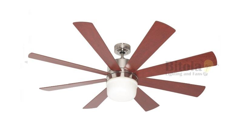 8 blade ceiling fan photo - 10