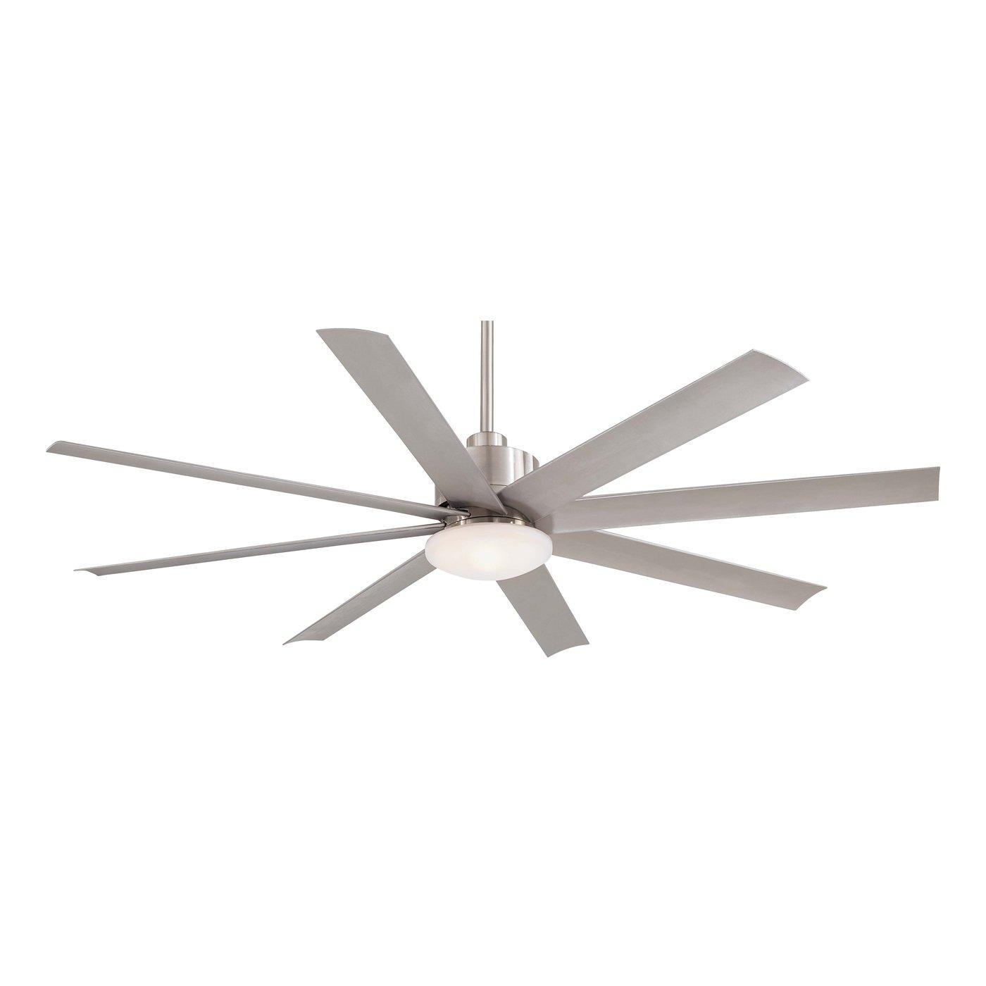 8 blade ceiling fan photo - 2