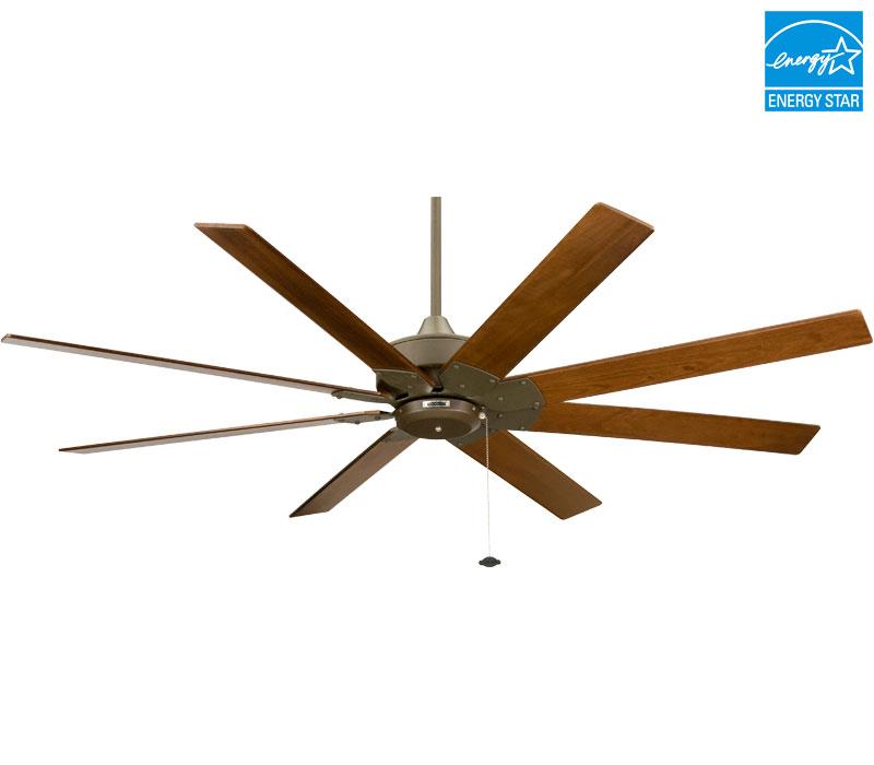 8 blade ceiling fan photo - 7