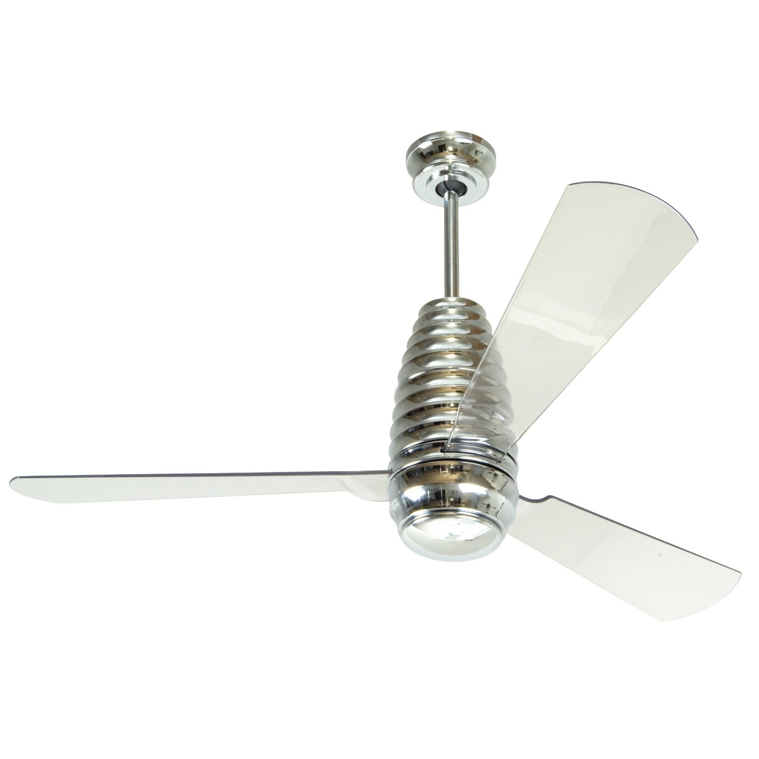 Acrylic ceiling fan great approach to include loads of intrigue