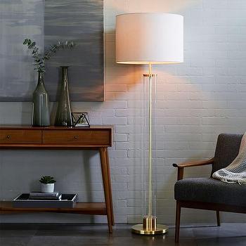 acrylic floor lamp photo - 2