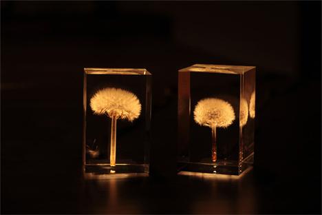 acrylic lamps photo - 2