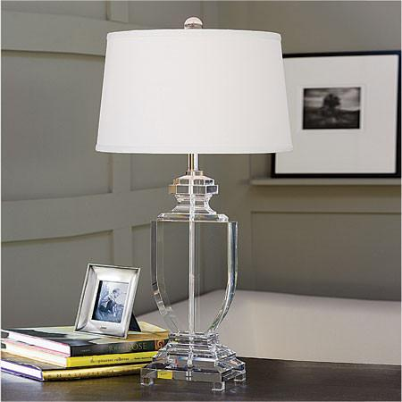 acrylic table lamps photo - 2