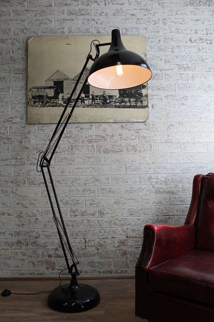 adesso atlas floor lamp photo - 1