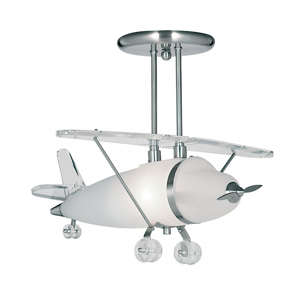 aeroplane ceiling light photo - 2