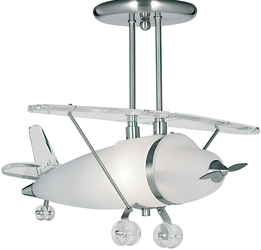 aeroplane ceiling light photo - 4