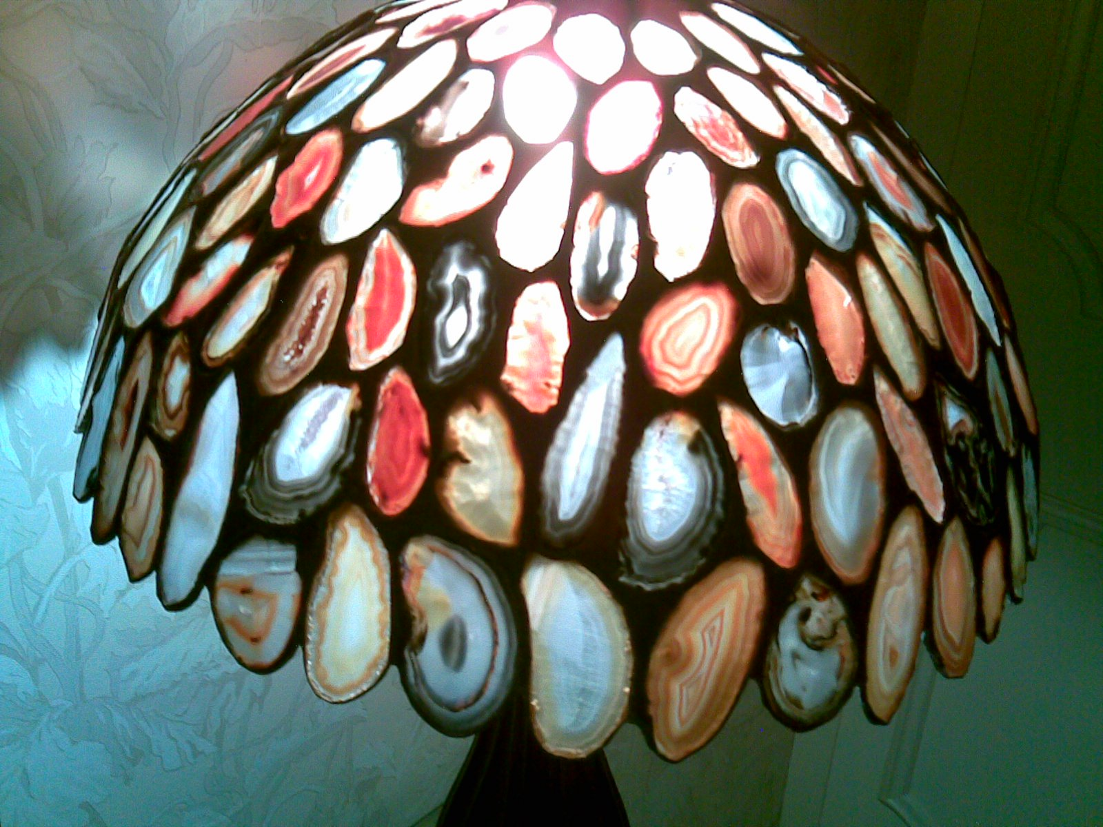 agate lamps photo - 6