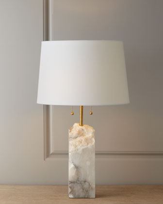 alabaster lamps photo - 1