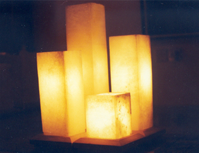 alabaster lamps photo - 3