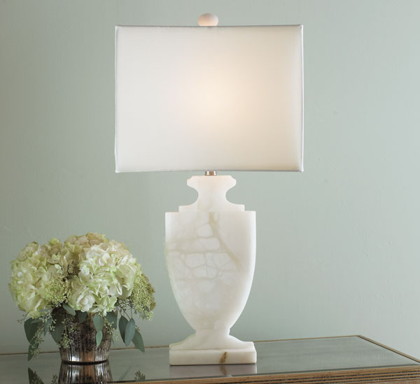 alabaster table lamps photo - 1