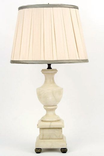 alabaster table lamps photo - 5