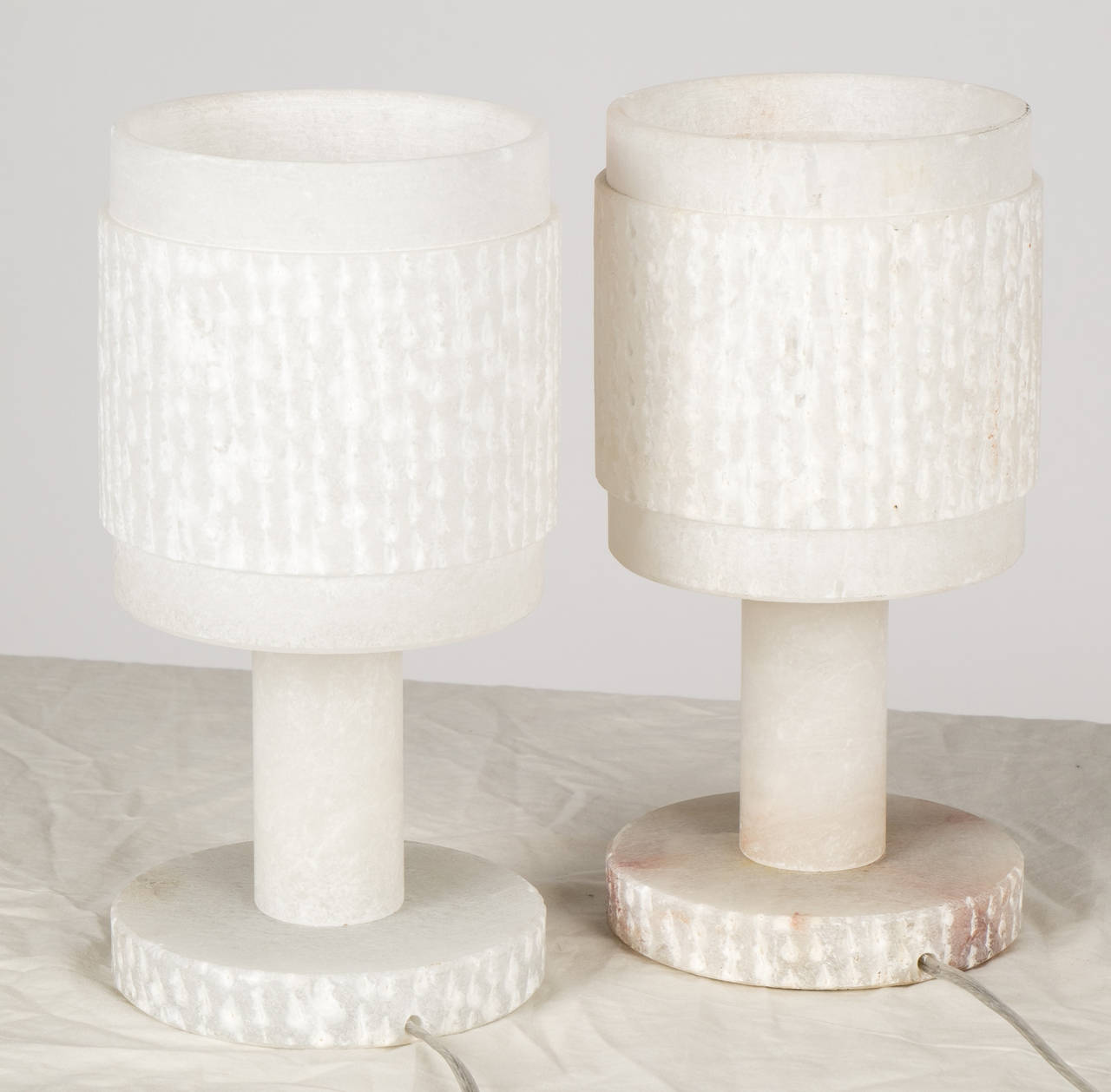 alabaster table lamps photo - 8