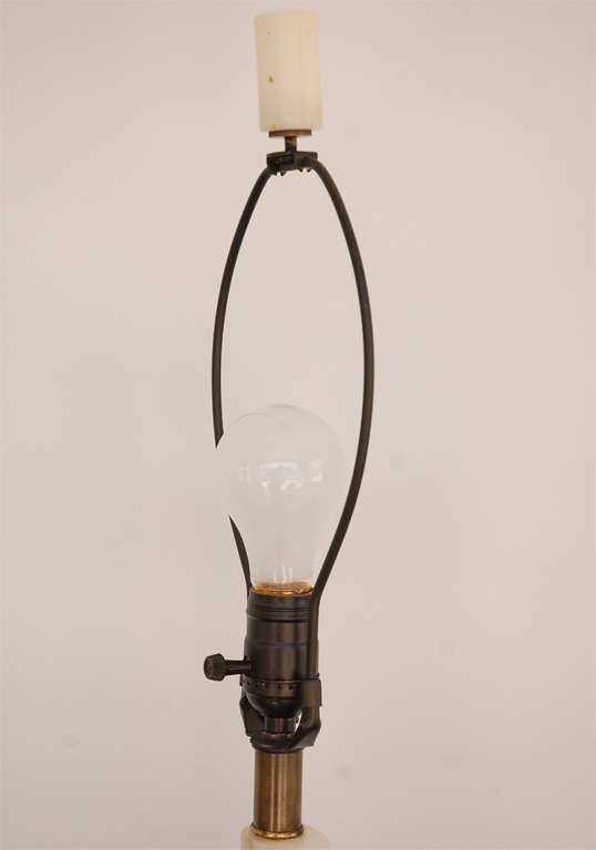 alabaster table lamps photo - 9