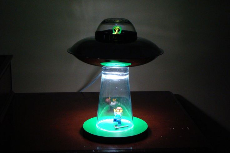 alien abduction lamp photo - 10