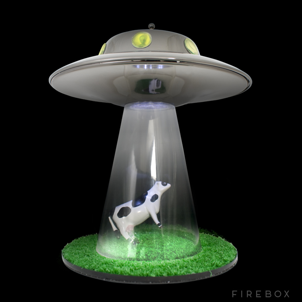 alien abduction lamp photo - 3