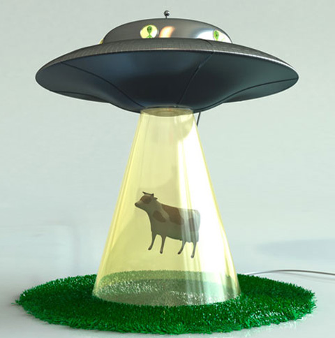 alien lamp photo - 4