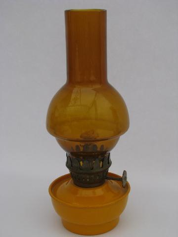amber glass lamps photo - 8