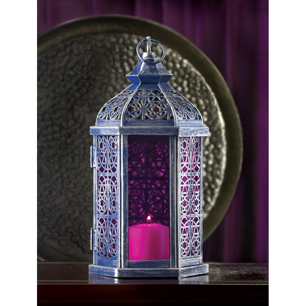 amethyst lamp photo - 3