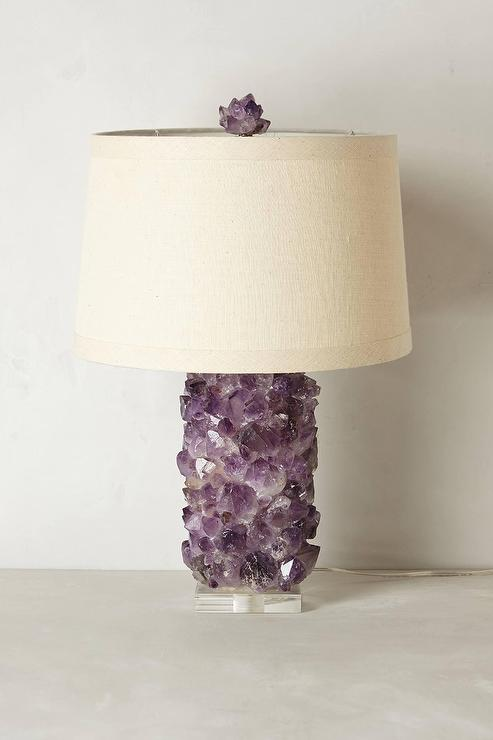 amethyst lamp photo - 9