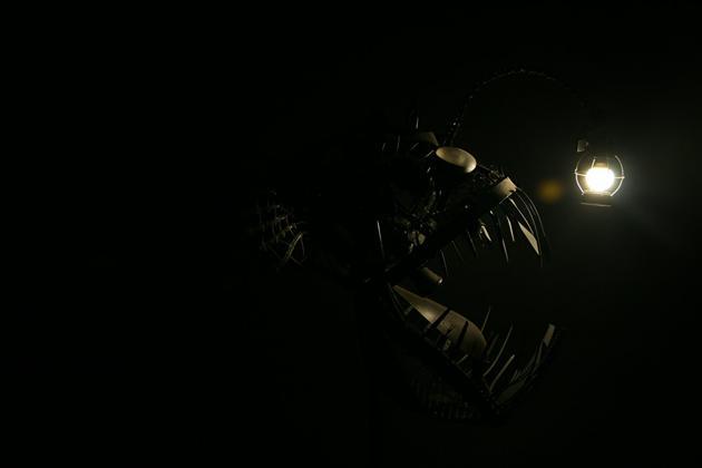 angler fish lamp photo - 7